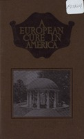 "[""<p> Pamphlet.  Cover title: A European cure in America.""</p>""]"