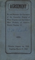 "[""<p> Pamphlet.  ""Effective August 1, 1920, expiring March 31, 1922.""</p>""]"