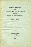 "[""Pamphlet.   \""Printed by order of A. A. Lilly, Attorney General of West Virginia.\"" ""]"