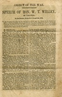 "[""<p> Pamphlet.  Discusses the goal of the rebellious states to destroy the ""principles of republican government.""</p>""]"