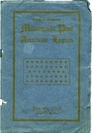 "[""Pamphlet.  Includes list of men from Monongalia County who served in World War I.  Also includes a Gibson Bros.  photograph of the Morgantown, W.Va. Armistice Day Parade (held Nov. 11, 1918) affixed to inside front cover and a program for Notification Day Exercises, Garfield Park Pavilion, Marion, Ohio, Thursday, July 22, 1920 affixed to the inside back cover. ""]"