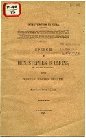 "[""<p> Pamphlet. Supports the war with Spain in retaliation for the Maine disaster. Advocates the siege of Cuba, Puerto Rico, and the Philippines. Principally discusses opposition to the independence of the Cuban people.<br /> <br />  </p>""]"