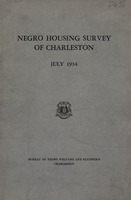 "[""<p> Pamphlet. Summarizes the results of a survey to ""ascertain the types of homes and the general living conditions of the Negro population of Charleston."" The survey was ""intended to serve as a guide for the entire state in an effort to promote and stimulate means of providing better living conditions for the Negro citizens.""</p>""]"