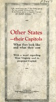 "[""<p> Pamphlet. ""Parkersburg would be an ideal Capitol for West Virginia. It is more accessible for 65% of the people of the State than Charleston. Its population is 98% American born. It has every facility with which to discharge the obligations of a Capitol City with credit to the State.""</p>""]"