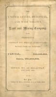 "["" Pamphlet. \""Capital, ... $20,000,000. Assets, $85,000,000. Office, No. 29 Broadway, New York City.\"" \""New York: Jared W. Bell, Printer\"" ...""]"